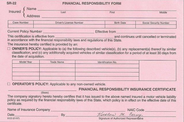 SR22 Florida - SR22 Insurance Florida